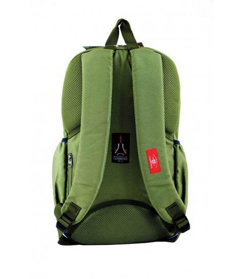 Рюкзак для підлітків YES  CA 095, зелений, 28*45*11