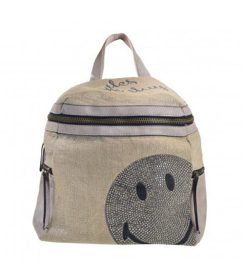 Сумка-рюкзак YES, сірий