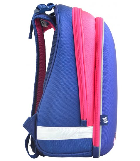 Рюкзак шкільний каркасний  YES  H-12 Owl blue, 38*29*15