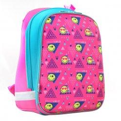 Рюкзак шкільний каркасний  YES  H-12 Smiley, 38*29*15