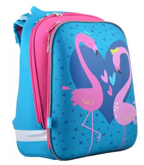 Рюкзак шкільний каркасний  YES  H-12 Flamingo, 38*29*15