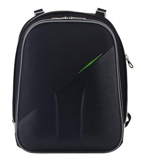 Рюкзак шкільний каркасний  YES  H-12 Black, 38*29*15