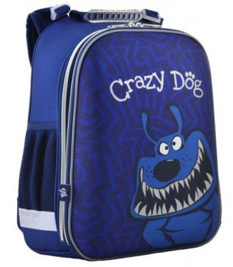 Рюкзак шкільний каркасний  YES  H-12-2 Crazy dog, 38*29*15