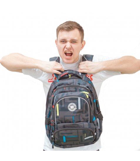 Рюкзак молодіжний YES  T-48 Move, 42.5*31*19