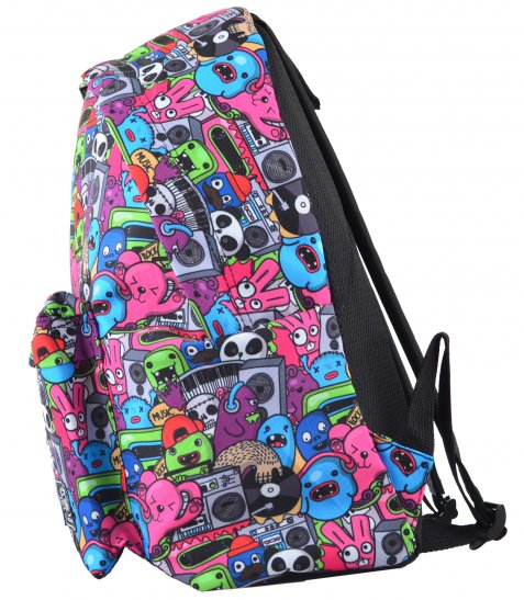 Рюкзак молодіжний YES  ST-17 Crazy muzic, 42*32*12