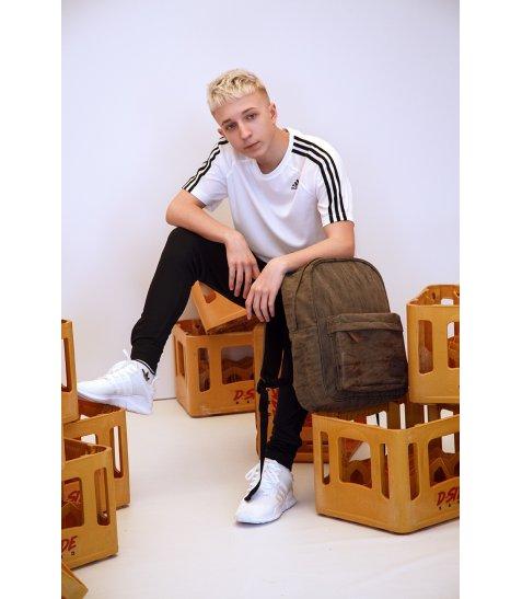 Рюкзак молодіжний YES  ST-16 Infinity deep black, 42*31*13