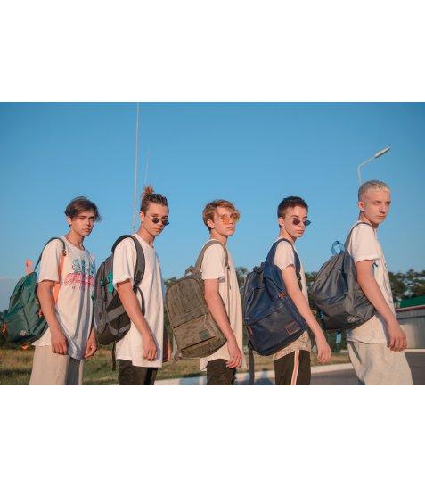 Рюкзак молодіжний YES  ST-16 Infinity dark blue, 42*31*13