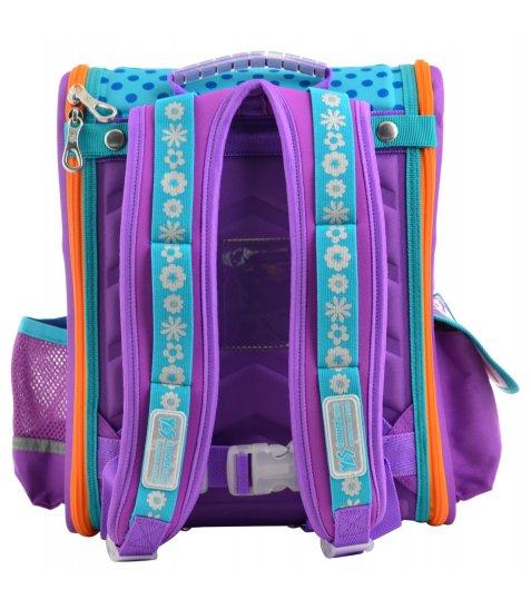 Рюкзак шкільний каркасний  YES  H-17 Flowers, 34.5*28*13.5