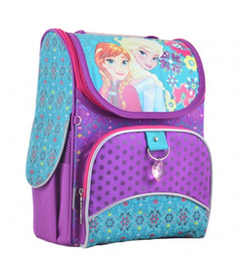 Рюкзак шкільний каркасний  YES  H-11 Frozen purple, 33.5*26*13.5