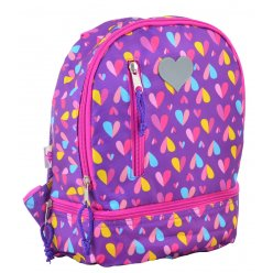 Рюкзак дитячий  YES  K-21 Hearts, 27*21.5*11.5
