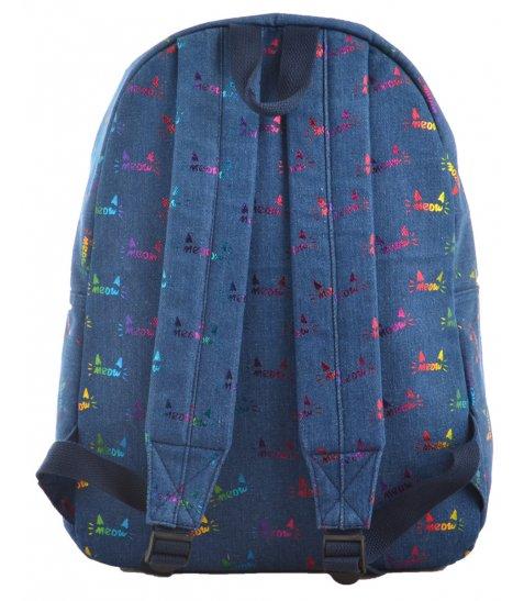 Рюкзак молодіжний YES  ST-18 Jeans Meow, 41*30*13.5
