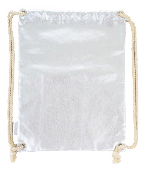 Сумка-мішок YES  DB-11 Silver, 43.5*33.5