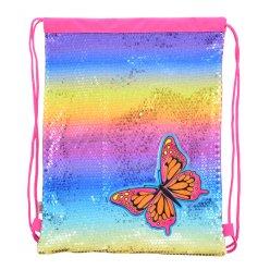 Сумка-мішок YES  DB-11 Butterfly, 45*35
