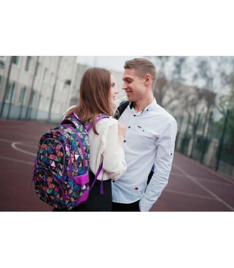 Рюкзак молодіжний YES  T-48 Facet, 42.5*31*19