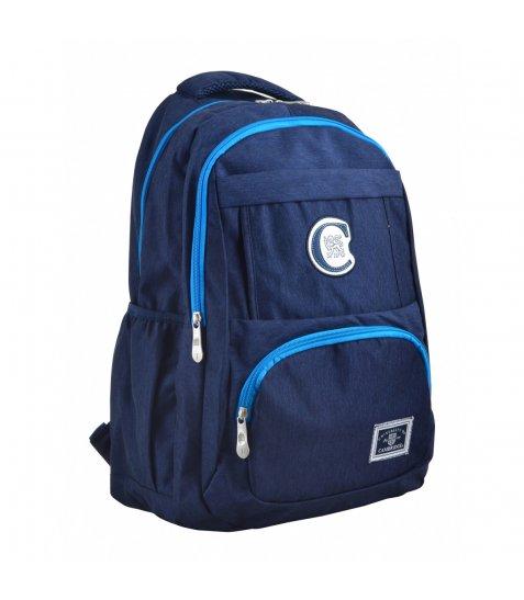 Рюкзак молодіжний YES  CA 151, 48х30х15, синій