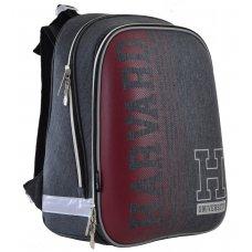 """Рюкзак шкільний  каркасний YES H-12 """"Harvard"""""""