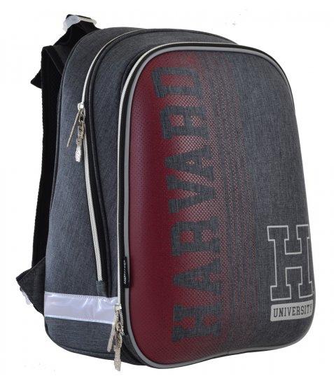 """Рюкзак шкільний  каркасний YES H-12 """"Harvard"""" 555944"""