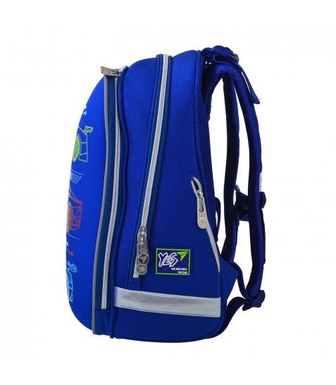 """Рюкзак шкільний  каркасний YES H-12 """"Maximum Speed"""""""