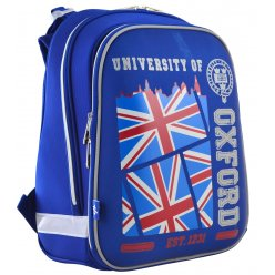 """Рюкзак шкільний  каркасний YES H-12 """"Oxford"""""""