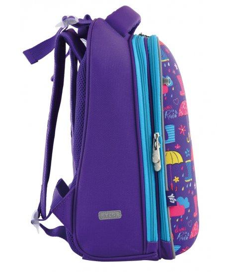 """Рюкзак шкільний каркасний  YES H-12 """"Umbrellas"""""""