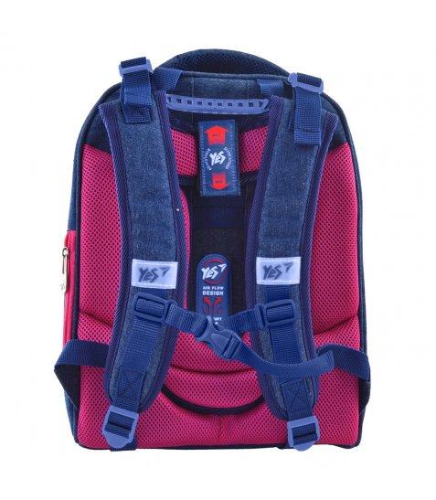 """Рюкзак шкільний каркасний YES H-12 """"Princess"""""""