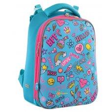 """Рюкзак шкільний каркасний YES H-12 """"Fun Mood"""""""