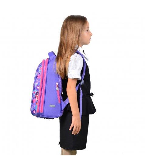 """Рюкзак шкільний каркасний YES H-12 """"Fantasy"""""""