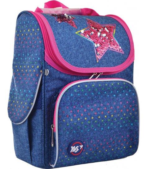 """Рюкзак шкільний  каркасний YES H-11 """"Starlight"""""""