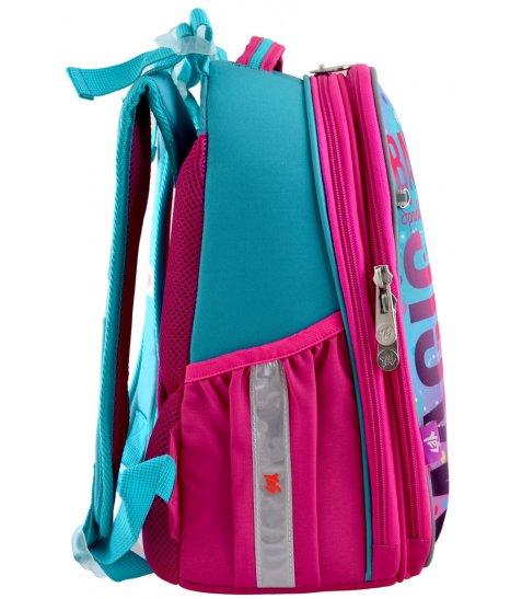 """Рюкзак шкільний  каркасний YES H-25 """"Barbie"""""""