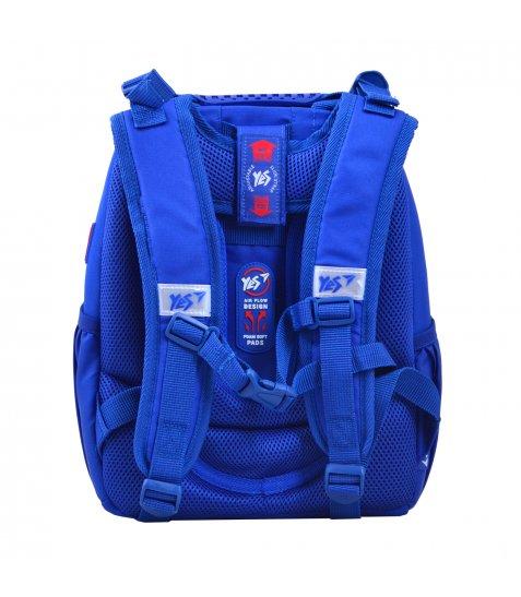 """Рюкзак шкільний  каркасний YES H-25 """"Born To Play"""" - фото 2 з 6"""