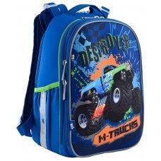 """Рюкзак шкільний  каркасний YES H-25 """"M-Trucks"""""""