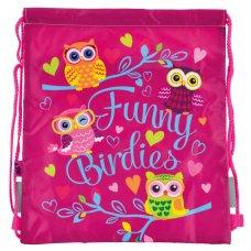 "Сумка для взуття YES  SB-10 ""Funny Birdies"""