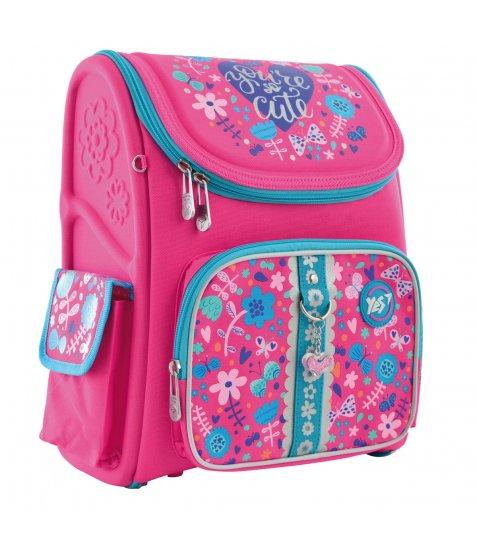 """Рюкзак шкільний  каркасний YES H-17 """"Cute"""" 556325"""