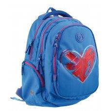 "Рюкзак шкільний YES  Т-22 Step One ""Magic heart"""