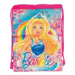 "Сумка-мішок YES  дитяча DB-11 ""Barbie Sequins"""