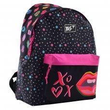 """Рюкзак молодіжний YES  ST-17 """"Pink Kiss"""""""