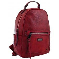 Female backpack  YW-14, burgundy