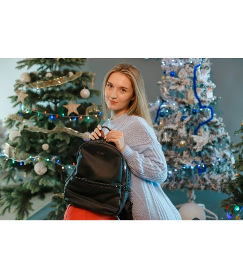 Рюкзак жіночий YES YW-15,  чорний
