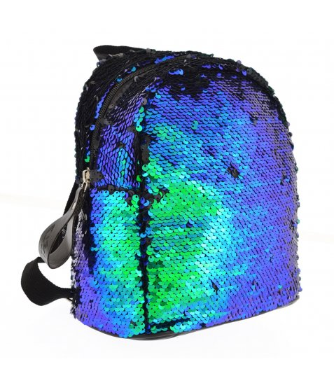 """Рюкзак YES GS-02 """"Green Sequins"""""""