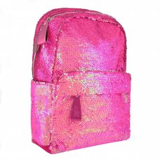 """Teenage backpack   with sequins GS-01 """"Pink"""""""