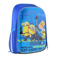 """Рюкзак шкільний каркасний YES H-27 """"Minions"""""""