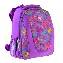 """Рюкзак шкільний  каркасний YES H-28 """"Butterfly dance"""""""