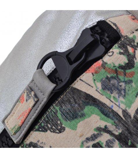 Рюкзак жіночий YES YW-46 «Doppio» срібний