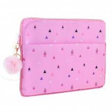 "Чохол для ноутбука YES ""Triango"", рожевий"