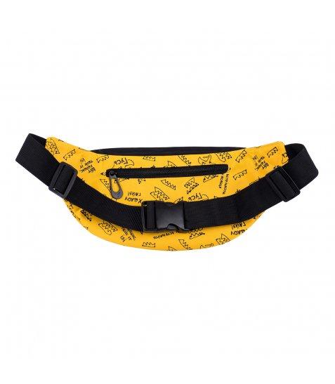 Сумка на пояс YES SP-27 Гусь, жовта - фото 3 з 6