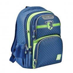 """Рюкзак шкільний YES S-30 Juno  """"School time"""" синій/зелений"""