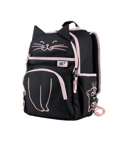 """Рюкзак шкільний YES S-39  """"Meow"""""""