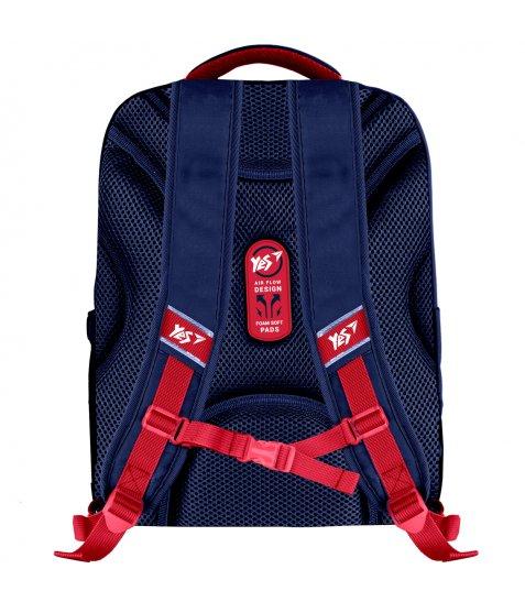 """Рюкзак шкільний YES S-30 Juno XS  """"College"""" синій"""