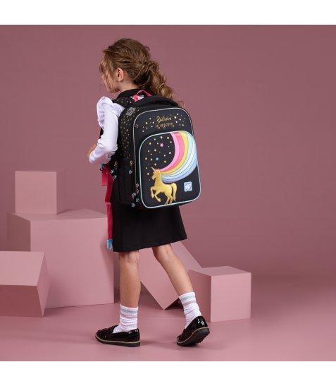 """Рюкзак шкільний YES S-78 """"Unicorn"""" - фото 4 з 7"""