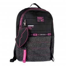 """Рюкзак YES T-122 """"Urban disign style Pink"""""""